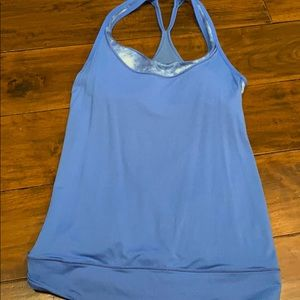 Pre-owned lululemon tank with built in bra. Size 4